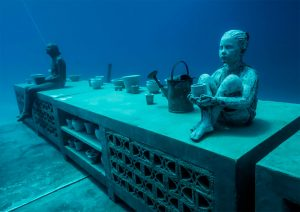 Jason DeCaires Taylor Creates An Underwater Museum