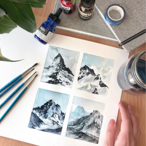 Watercolors Sketches of Landscapes