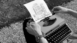 Drawings Made With Typewriter's Characters