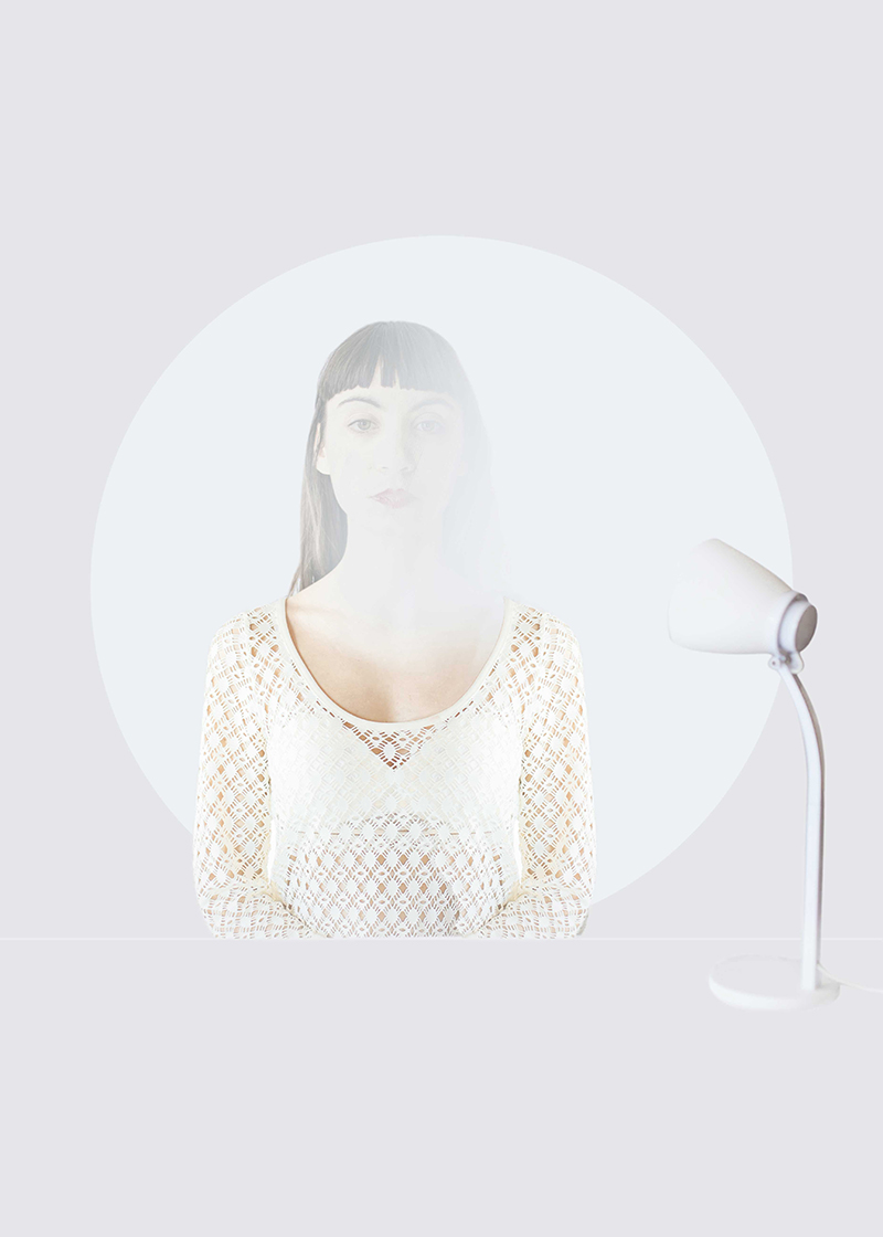 Graphic and Geometric Portraits by Erika Zolli