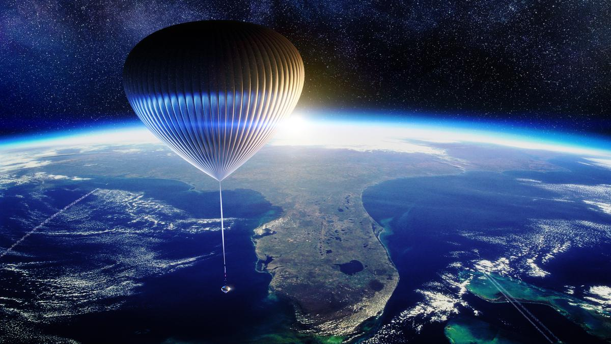 A Spaceship Idea for Space Tourism