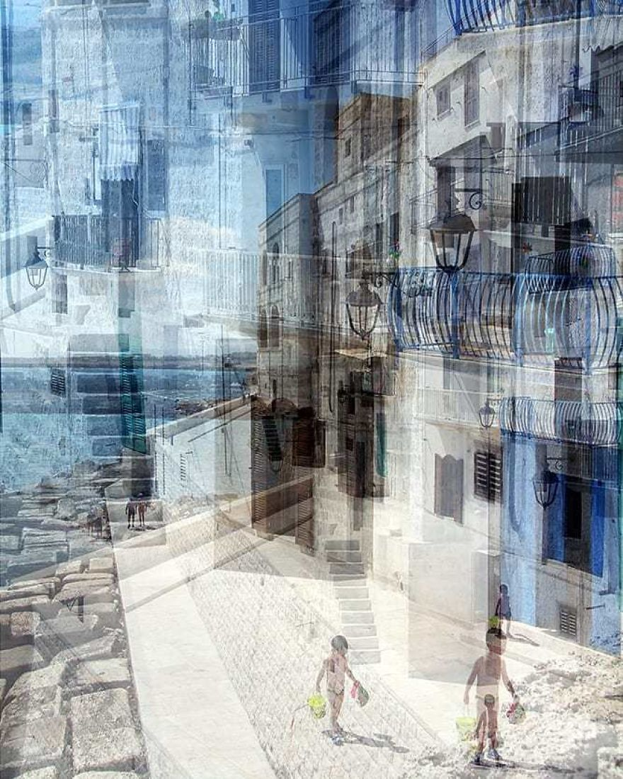 Abstract Pictures Representing Today's Urban Life
