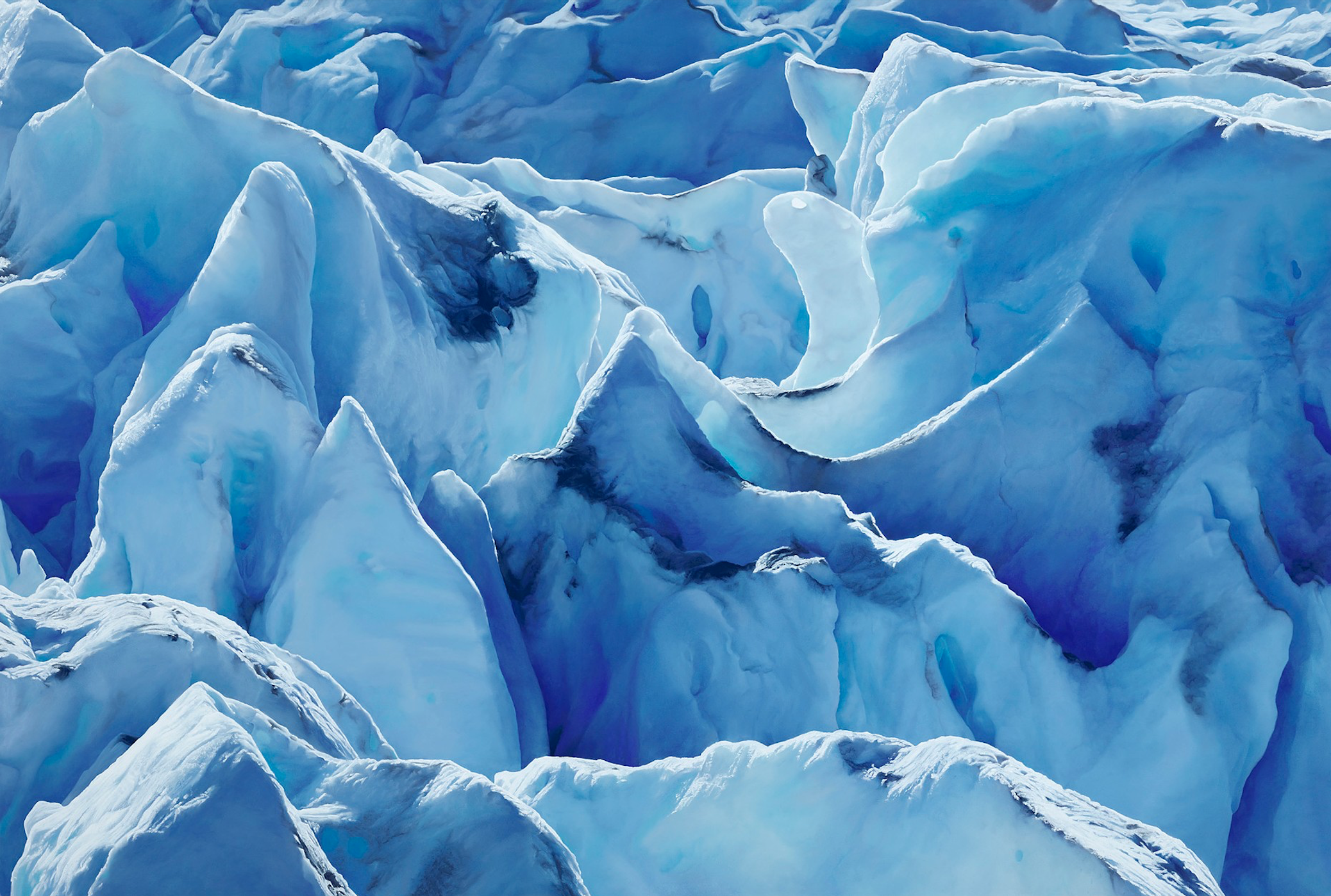 Incredible Drawings of Perito Moreno Glacier