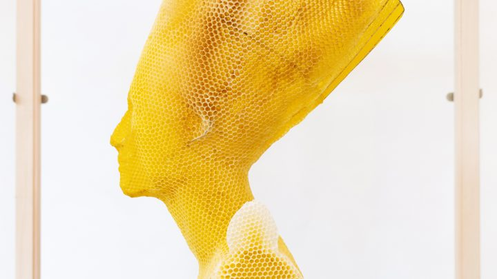 Impressive Scuptures in Natural Beeswax