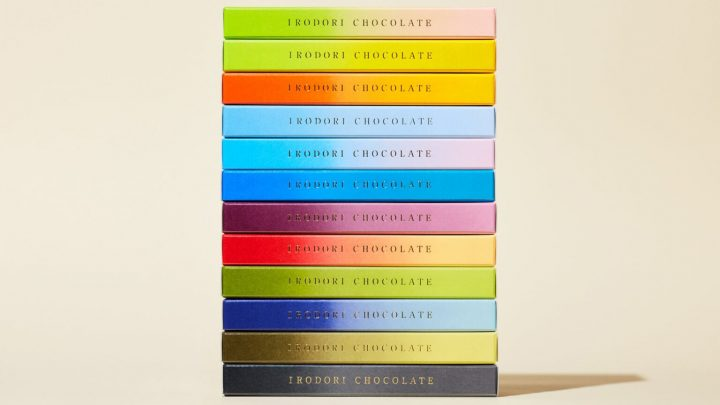 Chocolate Bars in Several Shades of Color