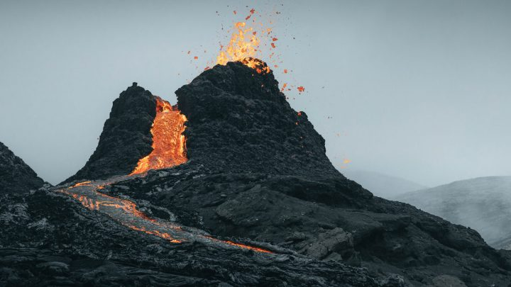 The Phenomenal Eruption of an Iceland Volcano