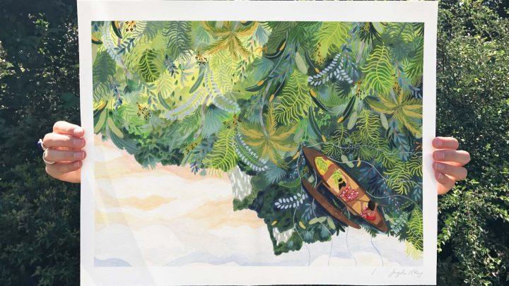 Ohkii's Studio Warm Illustrations