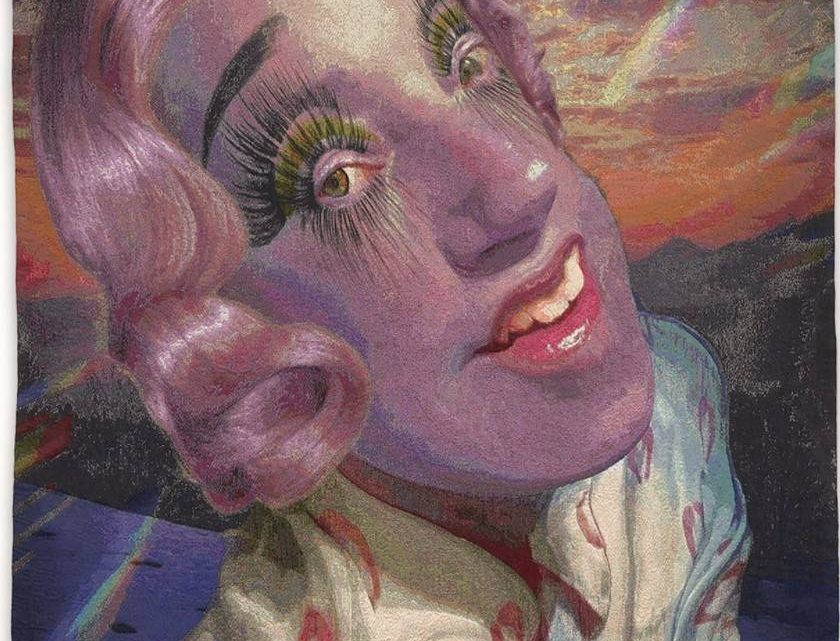 Cindy Sherman Turns her Selfies into Tapestries