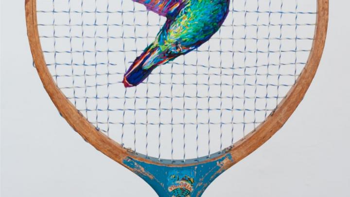 Tennis Rackets as Works of Art