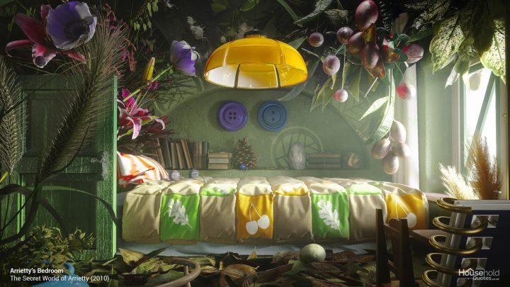 What Studio Ghibli Interiors Would Looks Like In Real Life