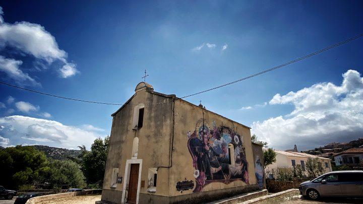Beautiful Mural by the Graphist Voglio Bene