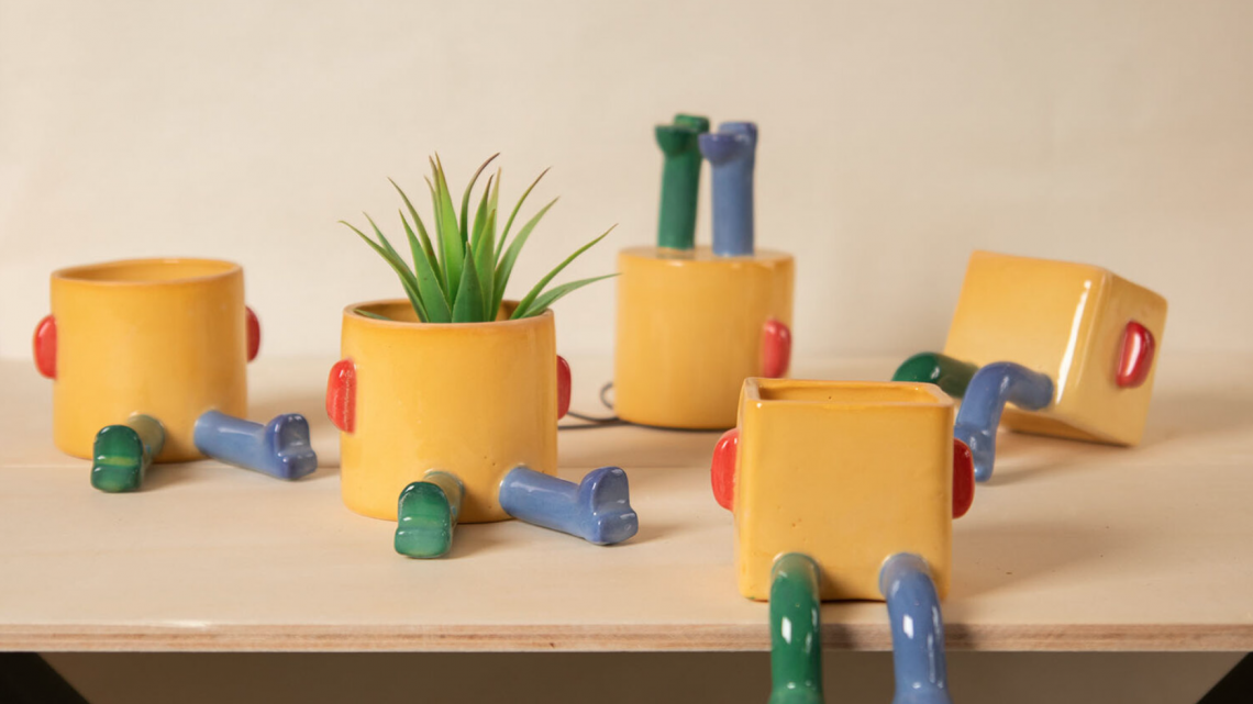 Funny Shaped Ceramics by Madriguera Workshop